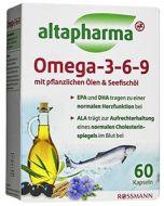 Добавка Altapharma Омега-3-6-9