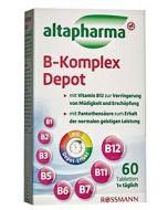 Добавка VITAMIN B KOMPLEX Depot Altapharma