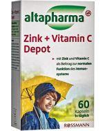 Добавка Цинк+Вітамін С Altapharma