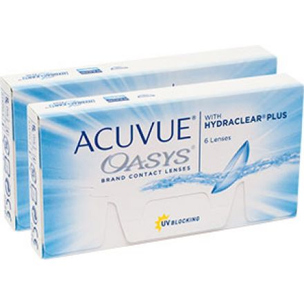 Купить линзы ACUVUE OASYS with HYDRACLEAR Plus|Акувью Оазис