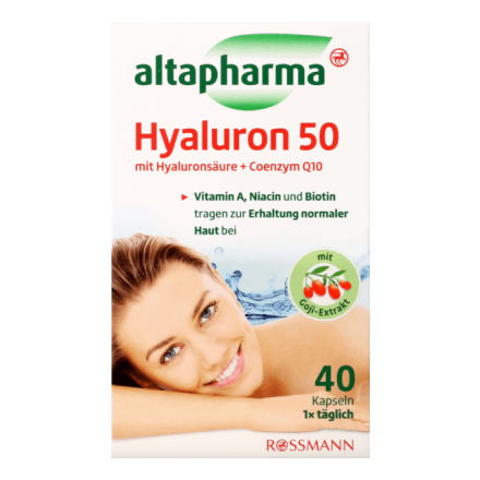 Добавка Гіалурон 50 + Коензим Q10 Altapharma