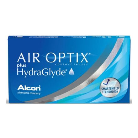 Купить линзы AIR OPTIX plus HydraGlyde|Эир Оптикс Плюс|