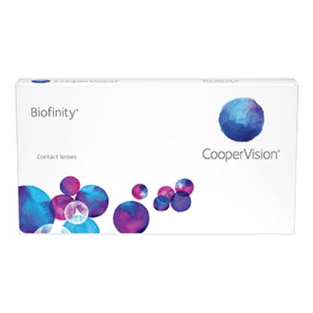 Image of  Контактные линзы Biofinity от CooperVision используют запатентованную технологию Aquaform®, которая обеспечивает оптимальное проникновение кислорода к сетчатке глаза. Благодаря уникальному материалу Comfilcon А с силикон-гидрогеля в