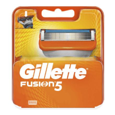 Змінні картриджі для гоління Gillette Fusion5