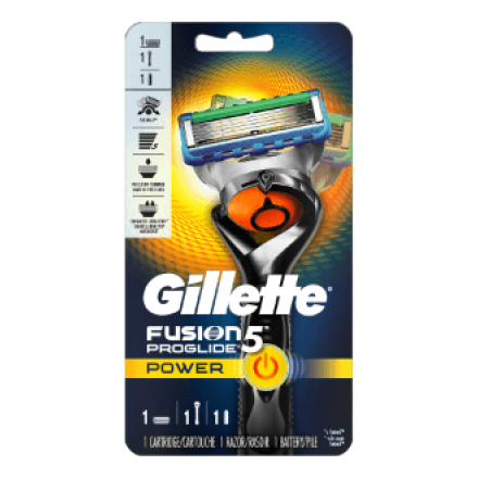 Бритва Gillette Fusion5 Power Flexball