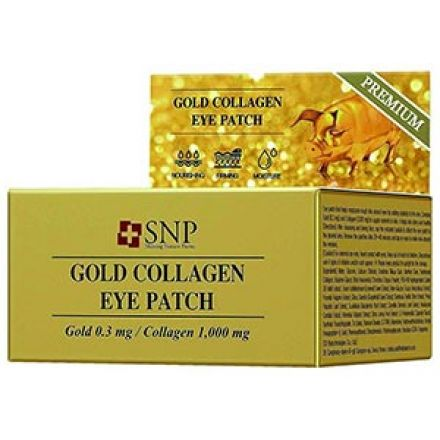 Патчи SNP Gold Collagen Eye Patch