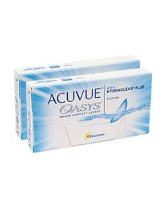 ACUVUE OASYS with HYDRACLEAR Plus DUO