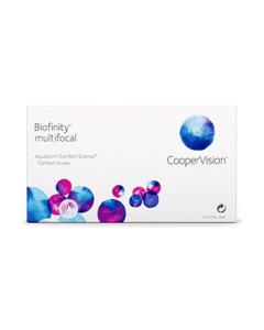 Image of Biofinity Multifocal Контактные линзы Biofinity Multifocal от CooperVision для коррекции возрастной дальнозоркости используют запатентованную технологию Aquaform®, которая обеспечивает оптимальное проникновение кислорода к сетчатке г
