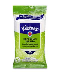 Влажные салфетки антибактериальные Kleenex