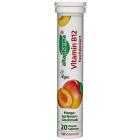 Image of Добавка Витамин B12 Altapharma (шипучие таблетки) со вкусом манго и абрикоса содержат терапевтическую дозу витамина B12, который необходим для регуляции работы всех систем организма, улучшает память, показан при стрессе и умственном перенапряж